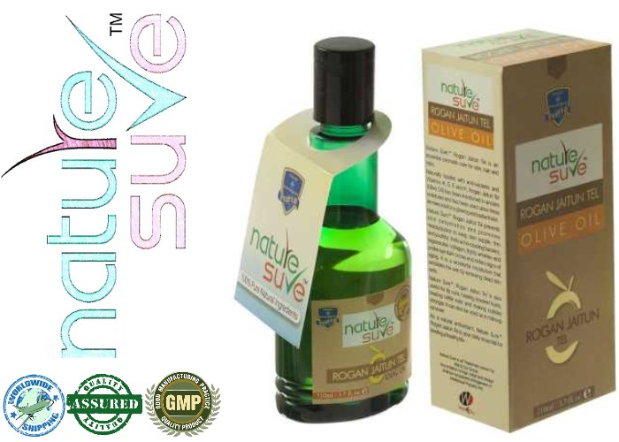 Nature-Sure-Olive-Oil-(Rogan-Jaitun)-Pack-and-Bottle